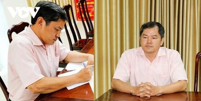 Bị can Nguyễn Xuân Huy tại cơ quan điều tra Công an TP. Cần Thơ.
