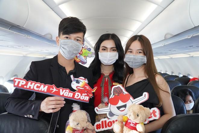 Sân bay Vân Đồn mở cửa trở lại đón chuyến bay Vietjet đầu tiên ảnh 6