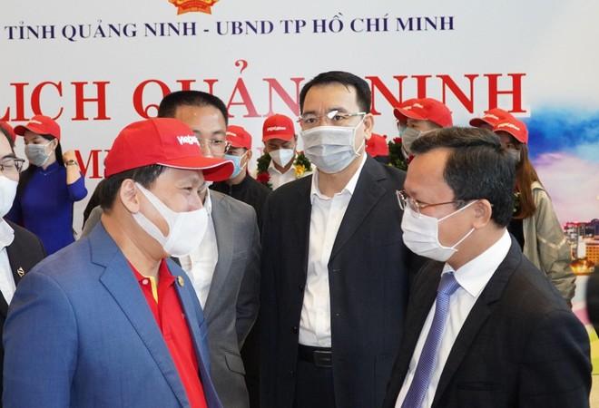 Sân bay Vân Đồn mở cửa trở lại đón chuyến bay Vietjet đầu tiên ảnh 2