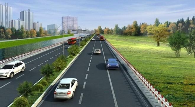 Phối cảnh cao tốc Biên Hòa - Vũng Tàu.
