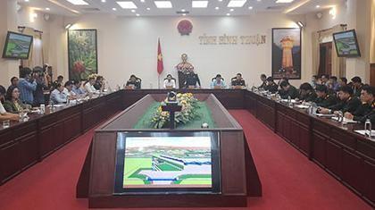 Theo lãnh đạo Bộ Quốc phòng, thủ tục đầu tư phần quân sự tại dự án đến nay cơ bản hoàn chỉnh, đã chuyển Thủ tướng phê duyệt. Nếu không có gì trở ngại, dự kiến cuối tháng 3 này sẽ triển khai thi công.