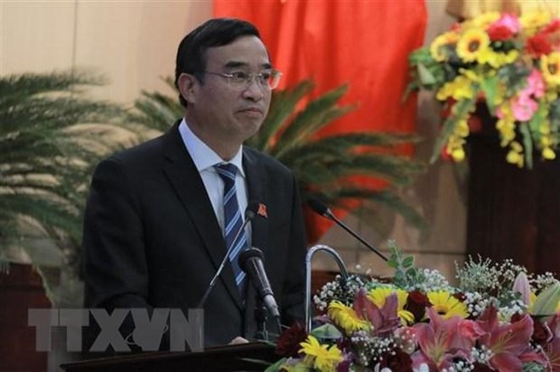 Ông Lê Trung Chinh, Phó bí thư Thành ủy, Chủ tịch Ủy ban Nhân dân thành phố Đà Nẵng. (Nguồn: Ảnh tư liệu).