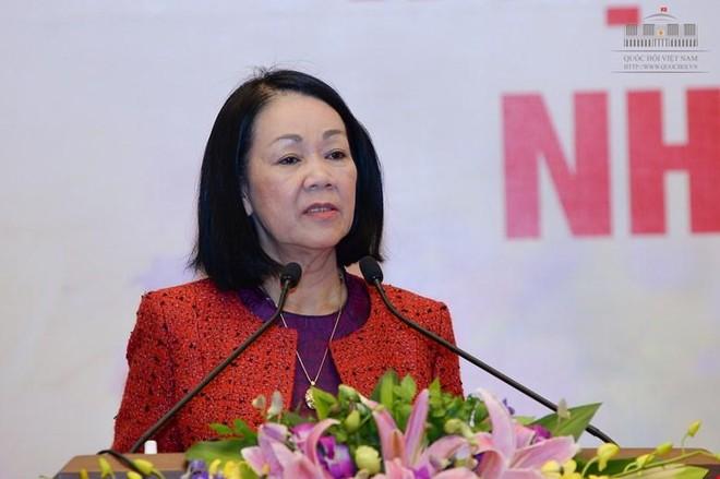 Bà Trương Thị Mai (Ảnh Quochoi).