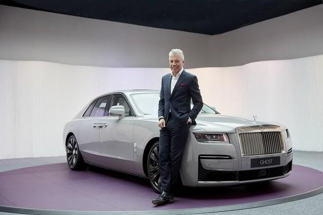 Ông Torsten Müller-Ötvös, Tổng giám đốc điều hành, Rolls-Royce Motor Cars.