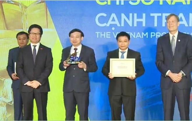 Quảng Ninh đang là đương kim vô địch Bảng xếp hạng PCI 2019.