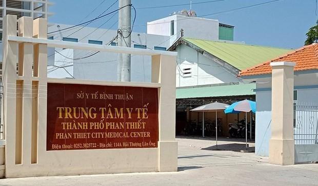 Trung tâm Y tế thành phố Phan Thiết. (Nguồn: PLO).