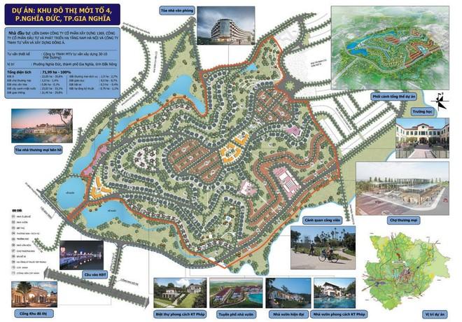 Dự án 72 ha tại thành phố Gia Nghĩa, tỉnh Đăk Nông.