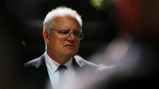 Thủ tướng Australia Scott Morrison (Nguồn: Steven.png).