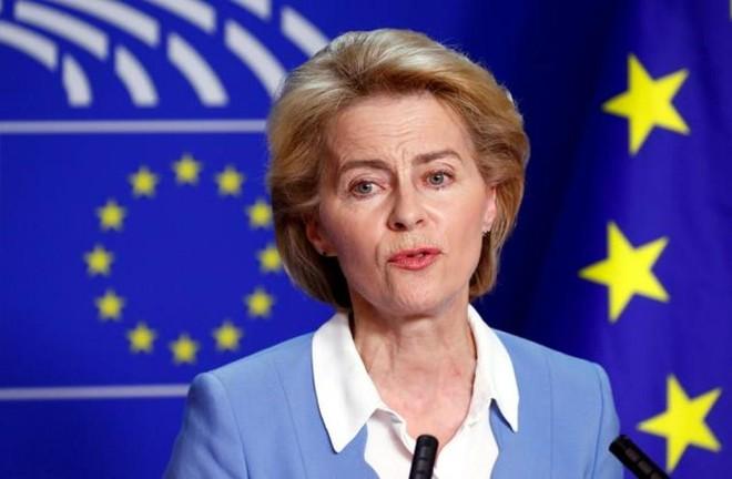 Chủ tịch Ủy ban châu Âu Ursula von der Leyen. Ảnh: Reuters.