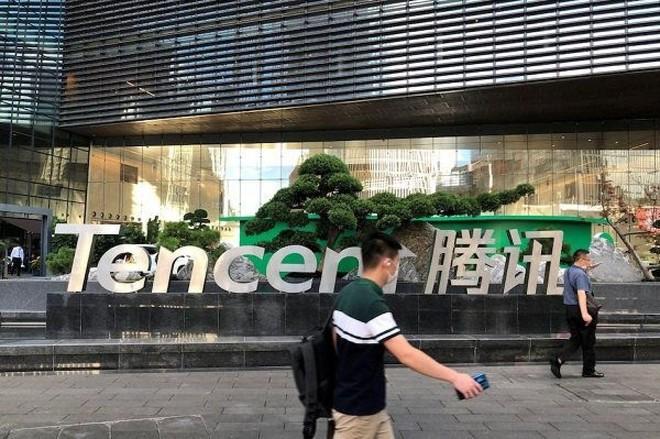 Tập đoàn Tencent. (Ảnh: Reuters).