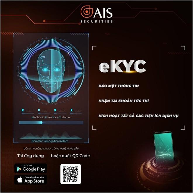 Mang trải nghiệm công nghệ mới đến với nhà đầu tư, AIS ra mắt eKYC ảnh 1
