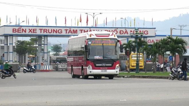 Bến xe Trung tâm thành phố Đà Nẵng (ảnh chụp trước ngày 27/4/2021).