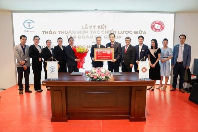 Tập đoàn C.T Group hợp tác toàn diện với trường Đại học Ngoại thương cơ sở II tại TP.HCM ảnh 1