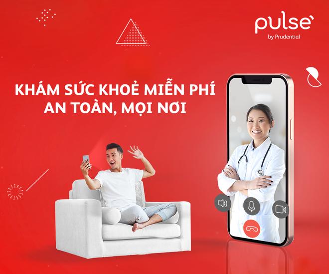 Prudential tặng cuộc gọi Tư vấn sức khỏe miễn phí trên ứng dụng Pulse ảnh 1