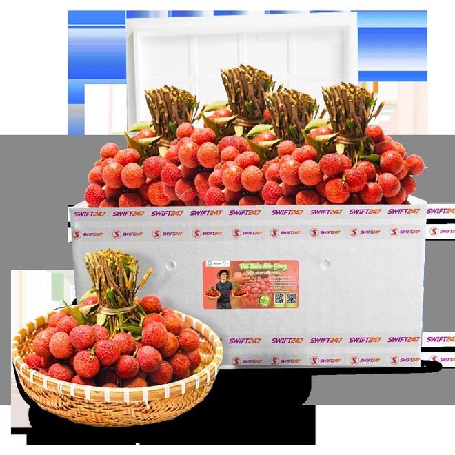 Cùng Vietjet chung tay xuất khẩu và tiêu thụ vải thiều Bắc Giang ảnh 1