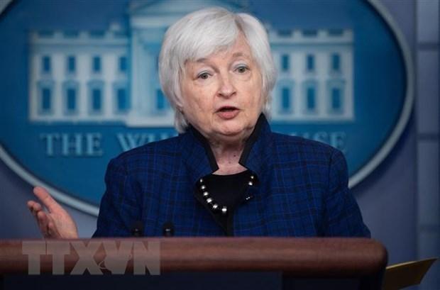 Bộ trưởng Tài chính Mỹ Janet Yellen. (Nguồn: AFP/TTXVN).