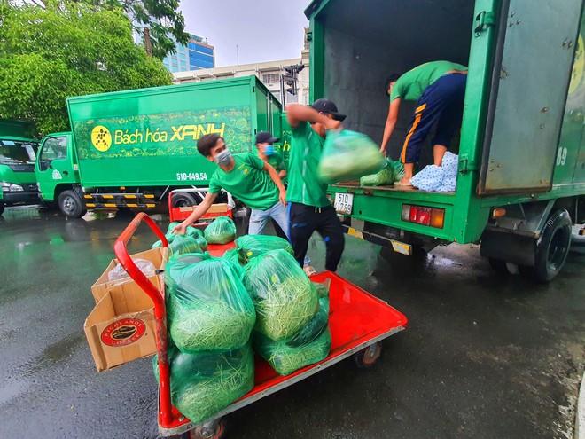 Chủ tịch Thế giới di động đi đón 20 tấn rau, quả vận chuyển bằng tuyến đường thuỷ ảnh 7