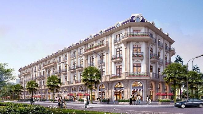 """Kiến trúc Chateau (Lâu đài) """"có một không hai"""" tại Shophouse D'. Metropole Hà Tĩnh ảnh 1"""