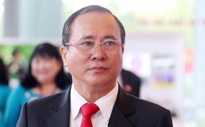 Ông Trần Văn Nam, nguyên Bí thư tỉnh ủy Bình Dương.