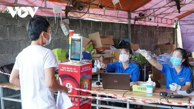 Đắk Lắk triển khai khai báo điện tử cho công dân về địa phương từ các tỉnh có dịch để siết chặt việc kiểm soát, theo dõi người về từ vùng dịch.