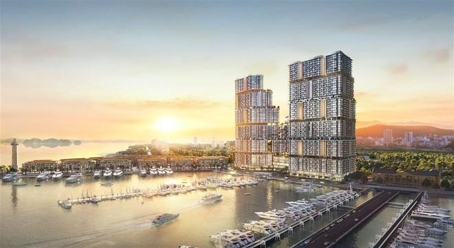4 dấu ấn vàng làm nên sức hút của tòa tháp mới Sun Marina Town