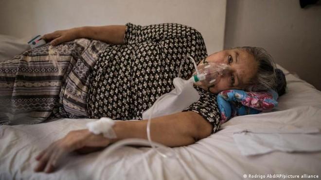 Peru ghi nhận hơn 2 triệu ca mắc Covid-19 và hơn 196.000 ca tử vong do dịch bệnh. Ảnh: AP.