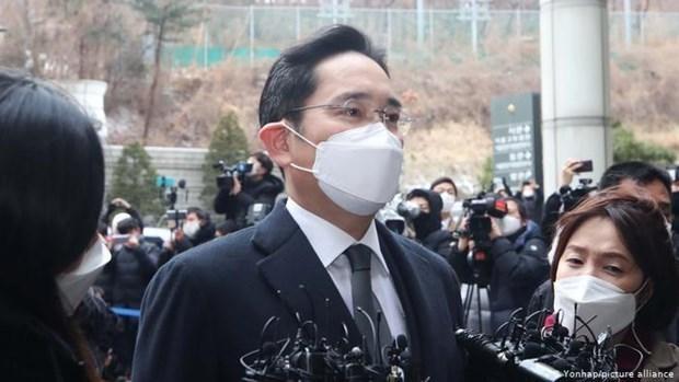 Phó Chủ tịch tập đoàn Samsung, ông Lee Jae-yong được ân xá. (Nguồn: Yonhap).