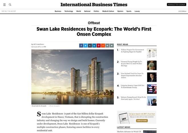 Thời báo danh giá của Anh và Mỹ: Việt Nam xuất hiện tổ hợp khoáng nóng cao tầng đầu tiên trên thế giới