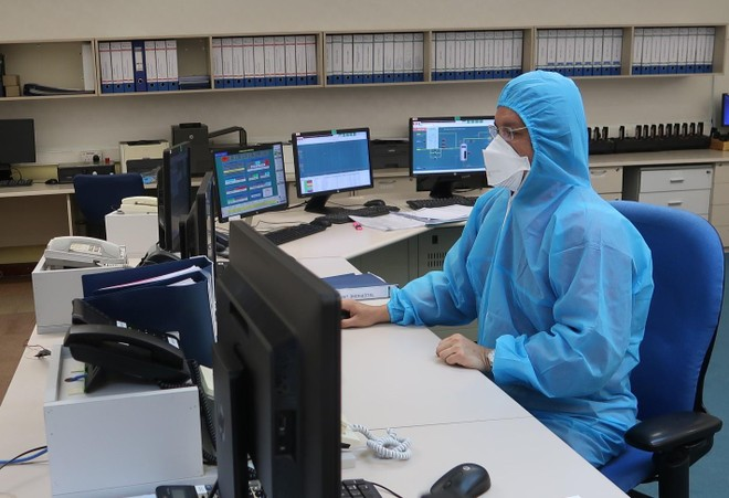 Thực hiện kiểm tra hệ thống điều khiển của Hệ thống Khí Nam Côn Sơn 1