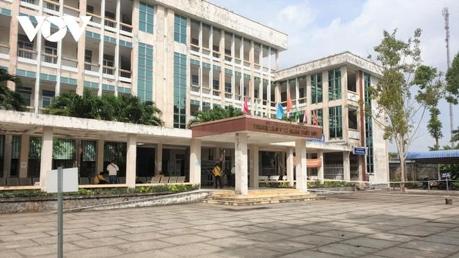 Trụ sở Trung tâm Y tế quận Thốt Nốt, TP. Cần Thơ.
