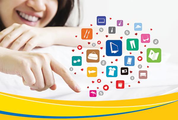 Nhiều nhu cầu mua sắm có thể thực hiện thông qua dịch vụ thanh toán trực tuyến PV-eComerce