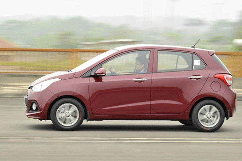 Hyundai Grand i10 là một trong những dòng xe giá rẻ từ Ấn Độ được nhập nhiều về Việt Nam trong nửa đầu năm 2017.