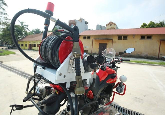 Dàn môtô đặc chủng của cảnh sát chữa cháy Việt Nam ảnh 7