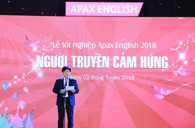 Ông Nguyễn Ngọc Thủy - Người sáng lập kiêm Chủ tịch HĐQT Egroup phát biểu tại sự kiện
