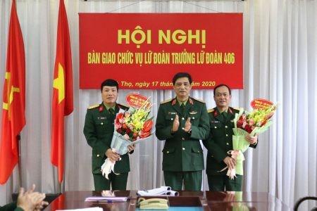 Bộ Quốc phòng bổ nhiệm nhân sự 4 Quân khu ảnh 1