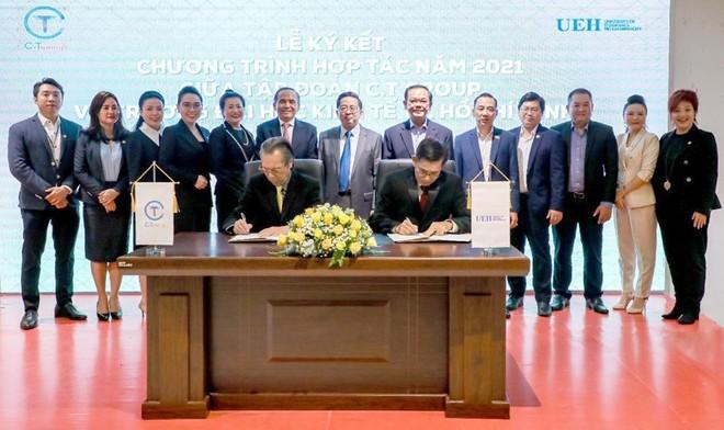 Hợp tác chiến lược toàn diện giữa tập đoàn C.T Group và Trường Đại học Kinh tế TP.HCM