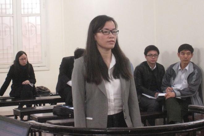 Bị cáo tại phiên tòa sơ thẩm