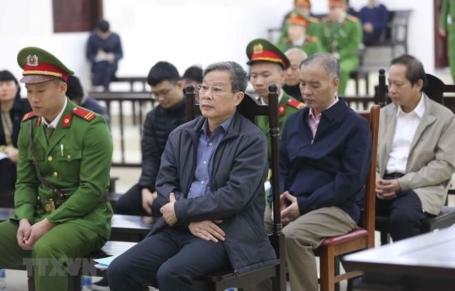 Ông Nguyễn Bắc Son tại phiên tòa. Ảnh: TTXVN.