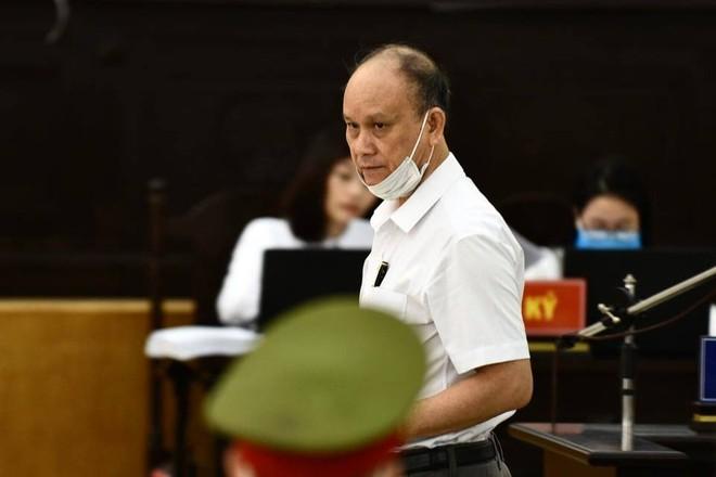 Bị cáo Trần Văn Minh tại tòa.