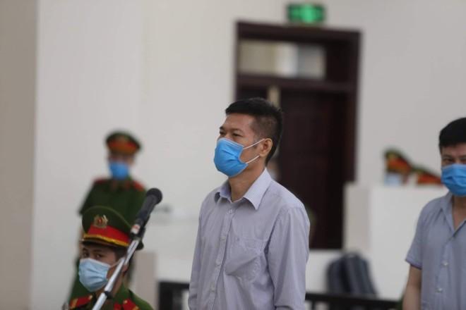 Bị cáo Nguyễn Nhật Cảm.