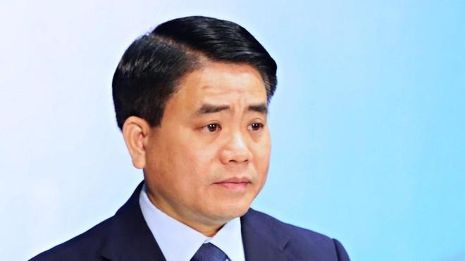 Ông Nguyễn Đức Chung trước khi vướng vòng lao lý.