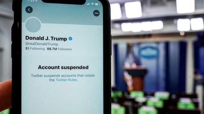 CEO Twitter: Khóa tài khoản của ông Trump là đúng nhưng đặt tiền lệ 'nguy hiểm'