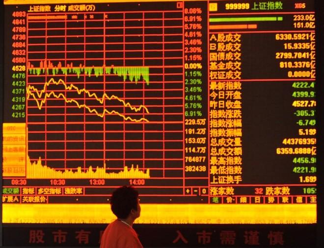 Nhà đầu tư Trung Quốc bán cổ phiếu, chuyển hướng vào quỹ đầu tư thị trường tiền tệ