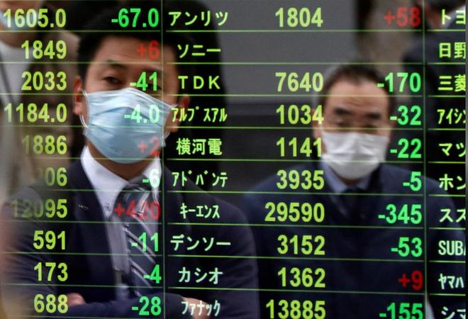Triển vọng chứng khoán châu Á mờ nhạt dần khi chứng khoán Trung Quốc sụt giảm