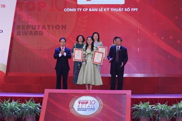 FPT Retail lọt top 3 nhà bán lẻ uy tín nhất Việt Nam năm 2019