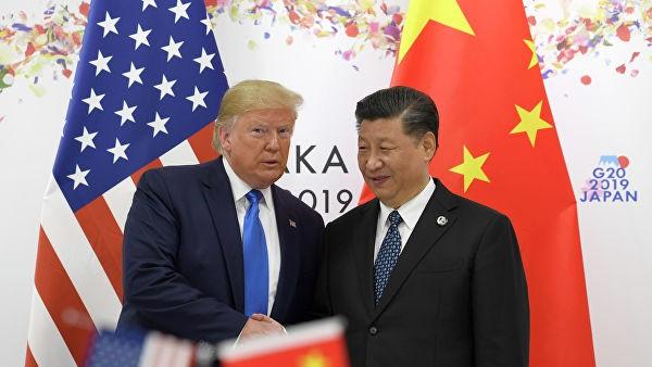 Tổng thống Mỹ Donald Trump và Chủ tich Trung Quốc Tập Cận Bình. Ảnh: AP.