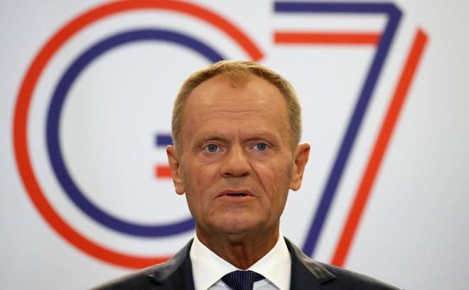 Chủ tịch Hội đồng Châu Âu Donald Tusk. Ảnh: Reuters