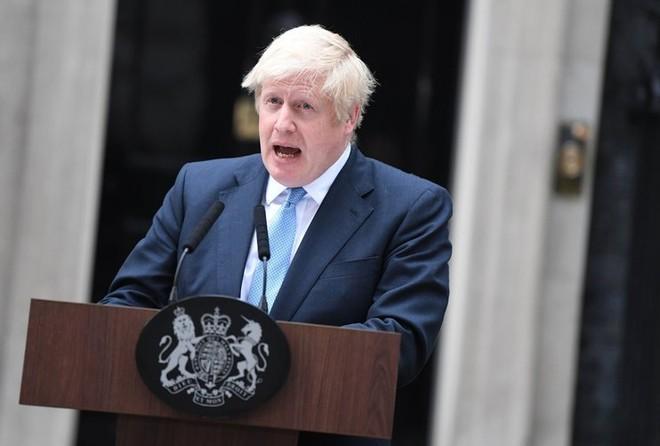 Thủ tướng Anh Boris Johnson. Ảnh: EPA-EFE.
