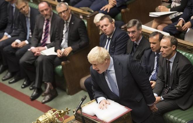 Thủ tướng Anh Boris Johnson. Ảnh: EFE.