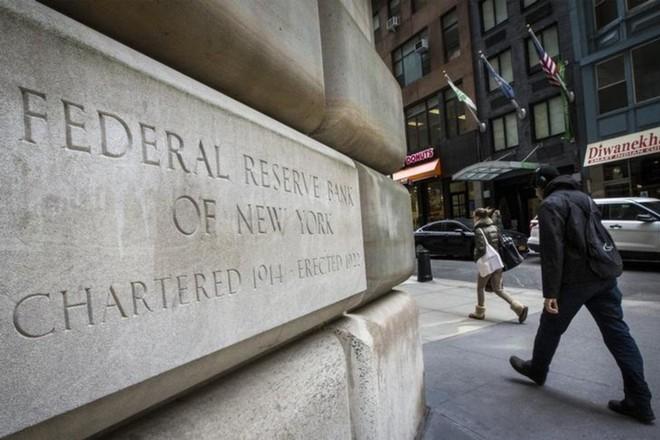 Trụ sở Ngân hàng Dự trữ Liên bang New York. Ảnh: Reuters.